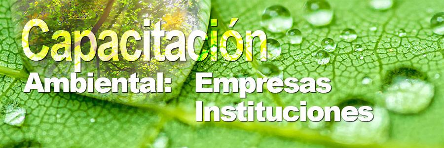 Capacitacion Ambiental ECOSEG Consultores