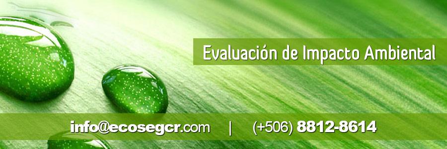 Evaluacion Impacto Ambiental por ECOSEG
