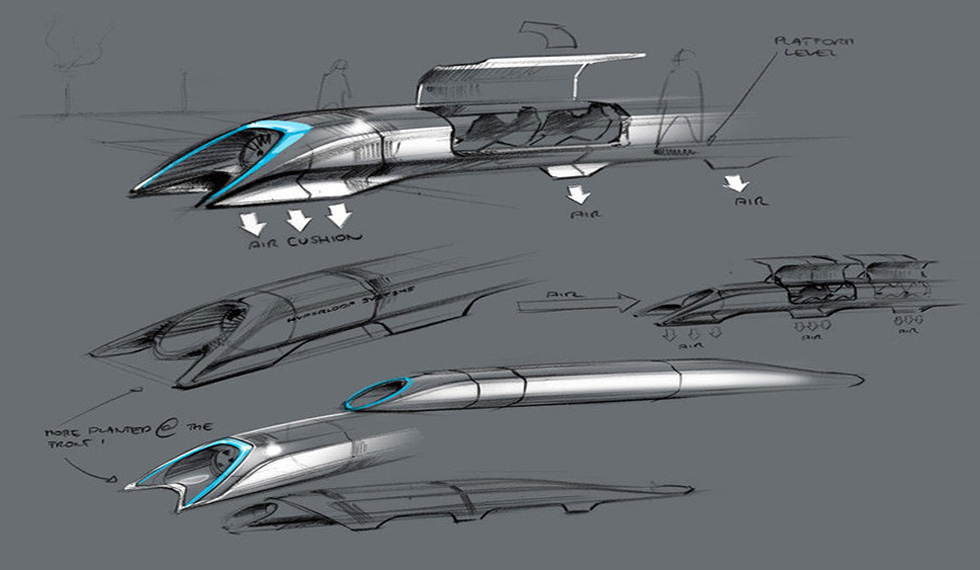 tren bala hyperloop ecoeficiente