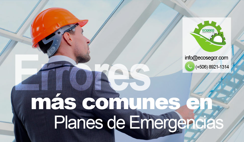 errores planes emergencias